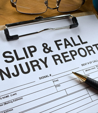Personal injury insurance claim
