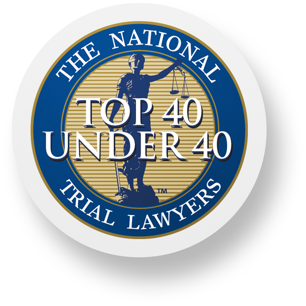 top  under 40 trial lawyers