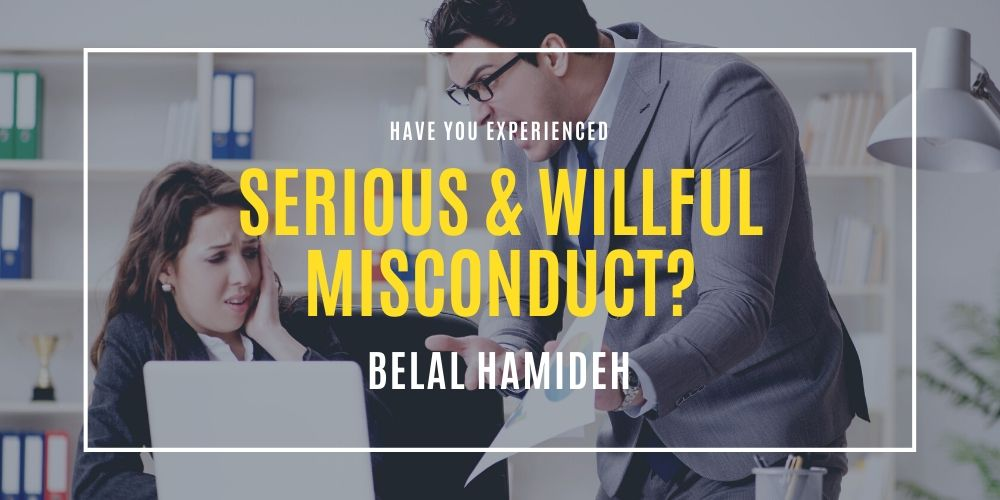 serious and willful misconduct attorney long beach