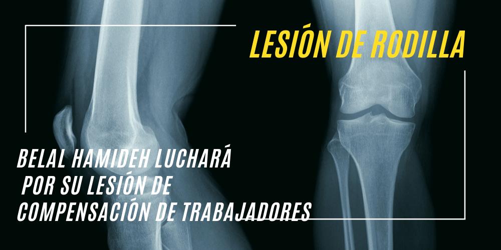 lesion de rodilla