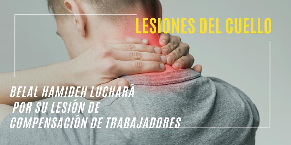 lesiones del cuello