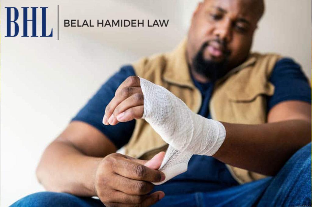 un abogado de accidente de trabajo