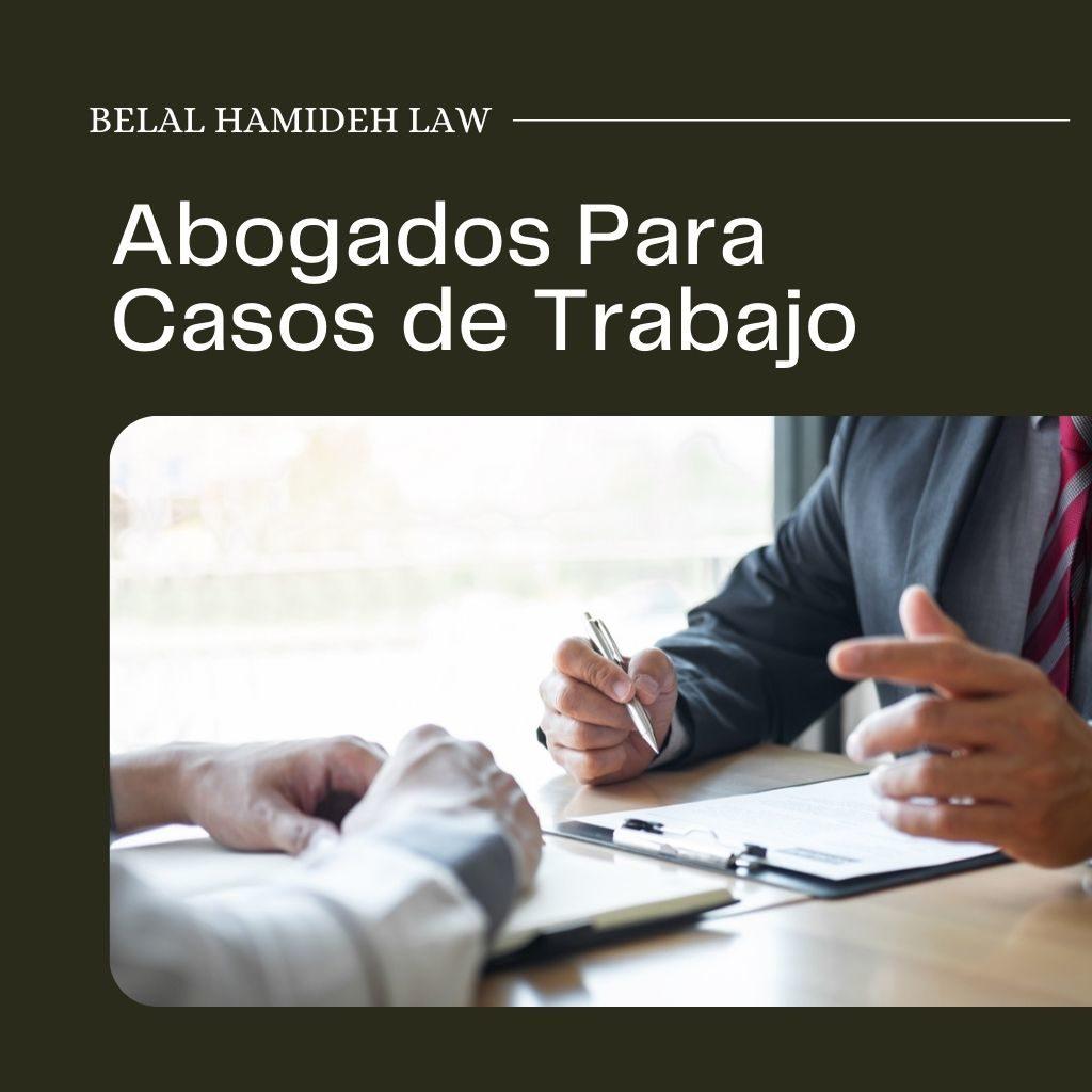 abogados para casos de trabajo