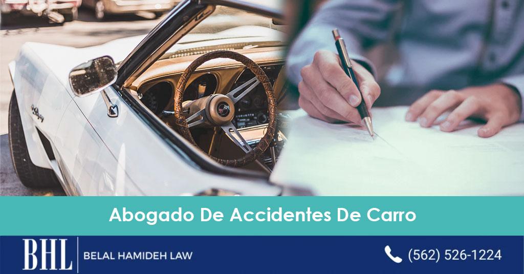 abogado de accidentes de carro