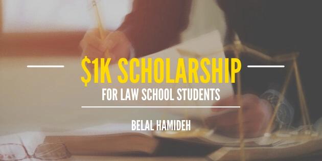 k scholarship for law school students