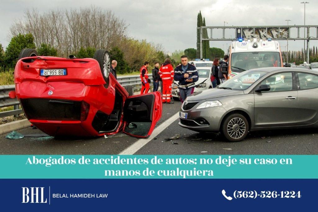 abogados de accidentes de autos